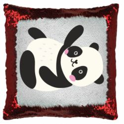 Подушка-хамелеон Little panda