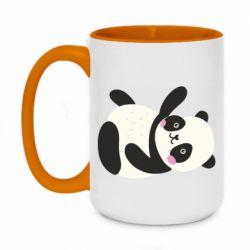 Кружка двухцветная 420ml Little panda