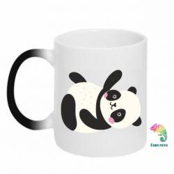 Кружка-хамелеон Little panda