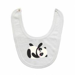 Слюнявчик  Little panda
