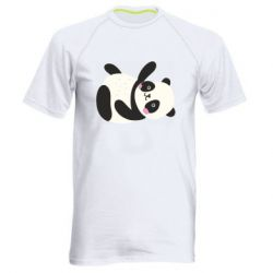 Мужская спортивная футболка Little panda