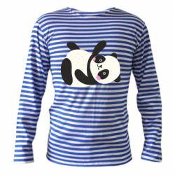 Тельняшка с длинным рукавом Little panda