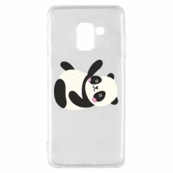 Чехол для Samsung A8 2018 Little panda