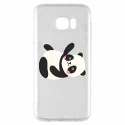 Чехол для Samsung S7 EDGE Little panda