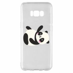 Чехол для Samsung S8+ Little panda