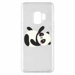 Чехол для Samsung S9 Little panda