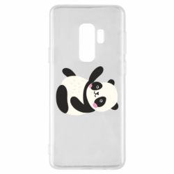Чехол для Samsung S9+ Little panda