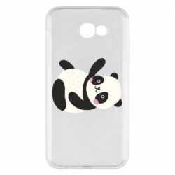 Чехол для Samsung A7 2017 Little panda