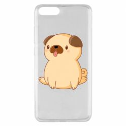 Чехол для Xiaomi Mi Note 3 Little pug