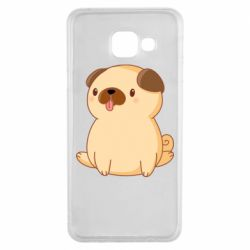Чехол для Samsung A3 2016 Little pug