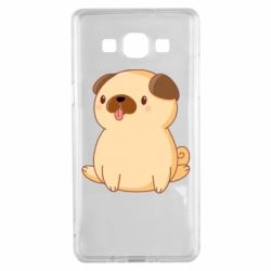 Чехол для Samsung A5 2015 Little pug