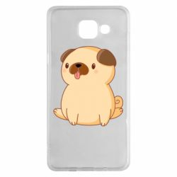 Чехол для Samsung A5 2016 Little pug