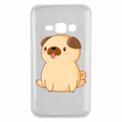 Чехол для Samsung J1 2016 Little pug