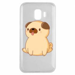 Чехол для Samsung J2 2018 Little pug