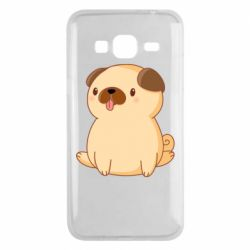 Чехол для Samsung J3 2016 Little pug