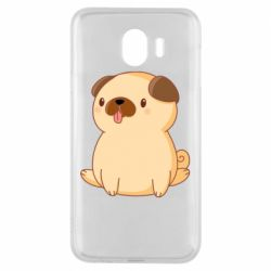 Чехол для Samsung J4 Little pug