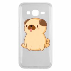 Чехол для Samsung J5 2015 Little pug