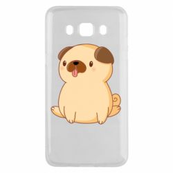 Чехол для Samsung J5 2016 Little pug
