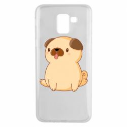 Чехол для Samsung J6 Little pug