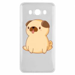 Чехол для Samsung J7 2016 Little pug