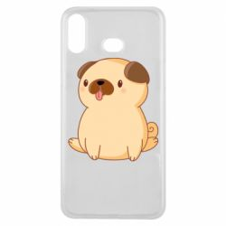 Чехол для Samsung A6s Little pug
