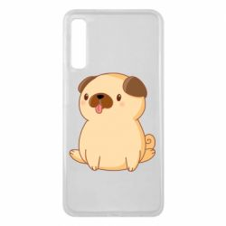Чехол для Samsung A7 2018 Little pug