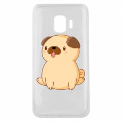 Чехол для Samsung J2 Core Little pug