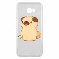 Чехол для Samsung J4 Plus 2018 Little pug