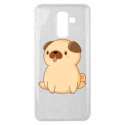 Чехол для Samsung J8 2018 Little pug