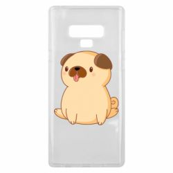 Чехол для Samsung Note 9 Little pug
