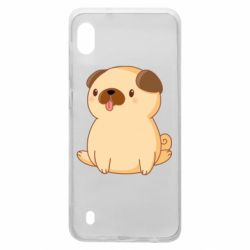 Чехол для Samsung A10 Little pug