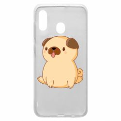 Чехол для Samsung A20 Little pug