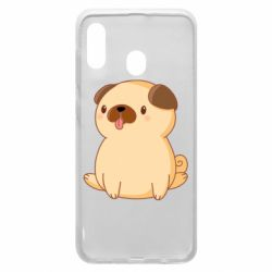 Чехол для Samsung A30 Little pug