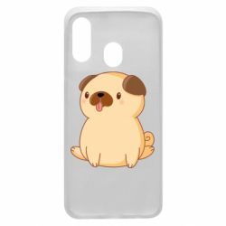 Чехол для Samsung A40 Little pug