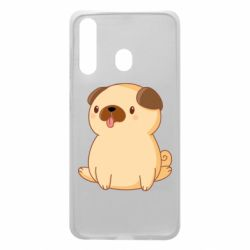 Чехол для Samsung A60 Little pug