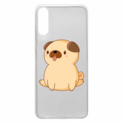 Чехол для Samsung A70 Little pug