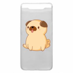 Чехол для Samsung A80 Little pug