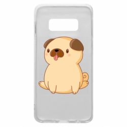 Чехол для Samsung S10e Little pug