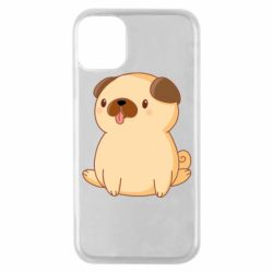 Чехол для iPhone 11 Pro Little pug