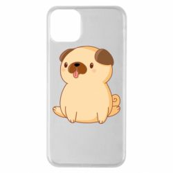 Чехол для iPhone 11 Pro Max Little pug