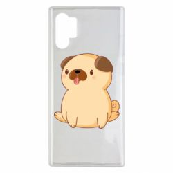Чехол для Samsung Note 10 Plus Little pug