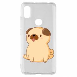 Чехол для Xiaomi Redmi S2 Little pug