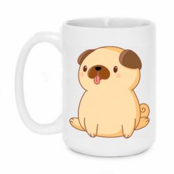 Кружка 420ml Little pug