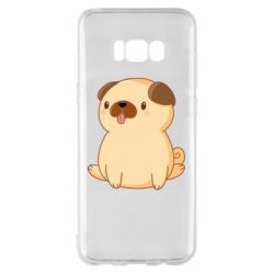 Чехол для Samsung S8+ Little pug