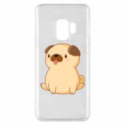 Чехол для Samsung S9 Little pug