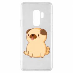 Чехол для Samsung S9+ Little pug