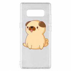 Чехол для Samsung Note 8 Little pug