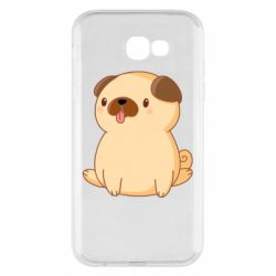 Чехол для Samsung A7 2017 Little pug