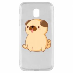 Чехол для Samsung J3 2017 Little pug