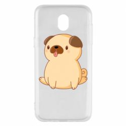 Чехол для Samsung J5 2017 Little pug